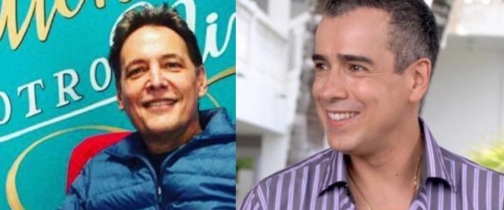 """¿Recuerda el beso """"gay"""" entre Jorge Enrique Abello y Patrick Delmas?"""
