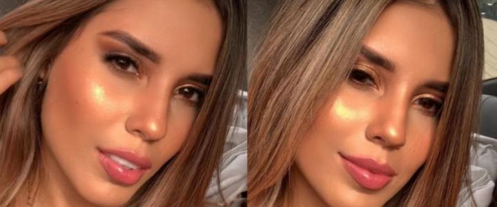 [Video] Reina de belleza colombiana perdió el brasier en medio de la pasarela
