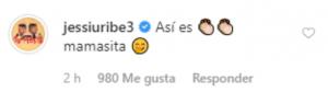 Ya hasta los piropos son públicos entre Jessi Uribe y Paola Jara