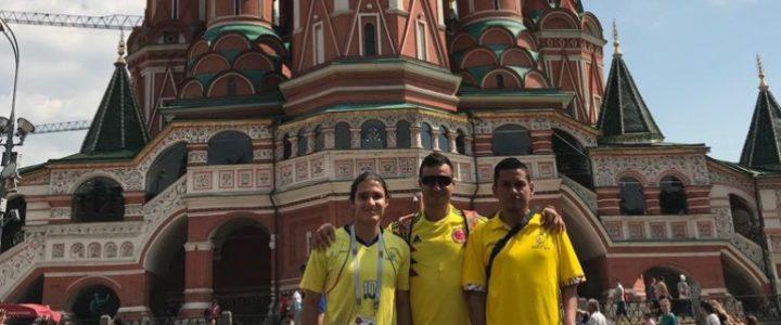Atletas Paralímpicos Colombianos acompañan a la Selección en Rusia 2018